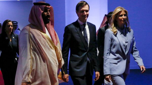 Muhammed bin Selman-Jared Kushner-Ivanka Trump Riyad'daki Aşırılıkçı İdeolojiyle Mücadele İçin Küresel Merkez'de  - Sputnik Türkiye