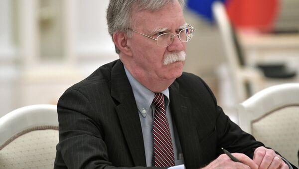 ABD Başkanı Donald Trump'ın Ulusal Güvenlik Danışmanı John Bolton - Sputnik Türkiye