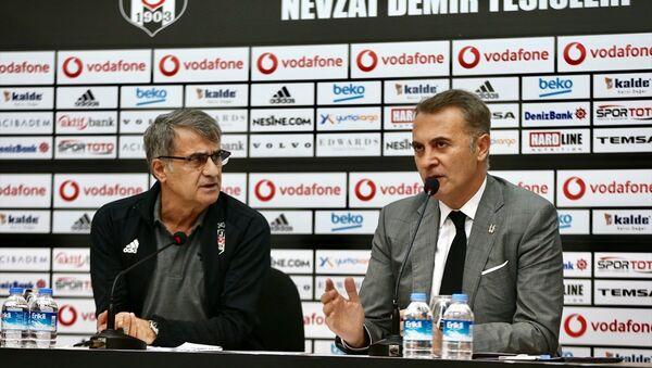 Fikret Orman - Şenol Güneş - Sputnik Türkiye