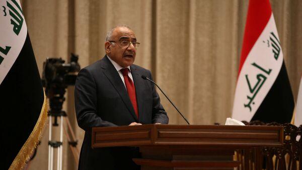 Irak'ın yeni Başbakanı Adil Abdulmehdi - Sputnik Türkiye