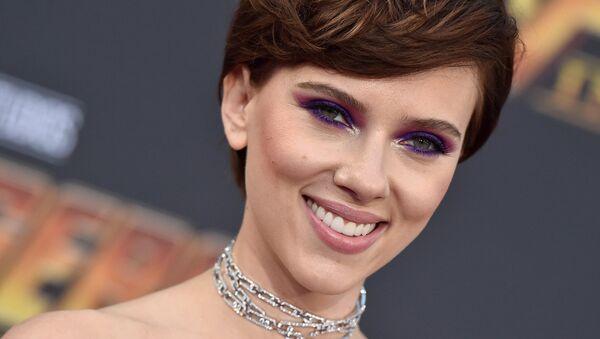 Scarlett Johansson, 'Avengers: Sonsuzluk Savaşı' prömiyerinde - Sputnik Türkiye
