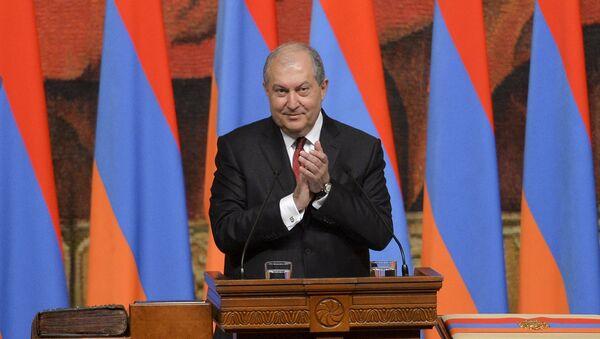 Ermenistan Cumhurbaşkanı Armen Sarkisyan - Sputnik Türkiye
