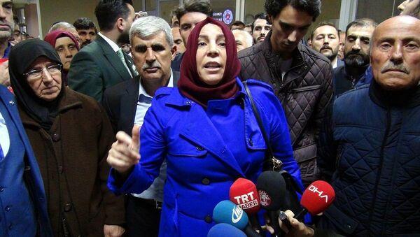 Muhsin Yazıcıoğlu'nun eşi Gülefer Yazıcıoğlu - Sputnik Türkiye