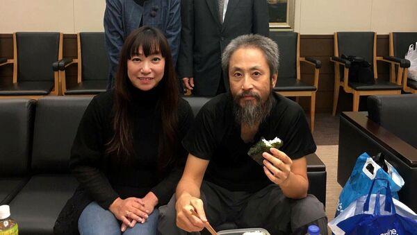 Japon gazeteci Jumpei Yasuda - Sputnik Türkiye