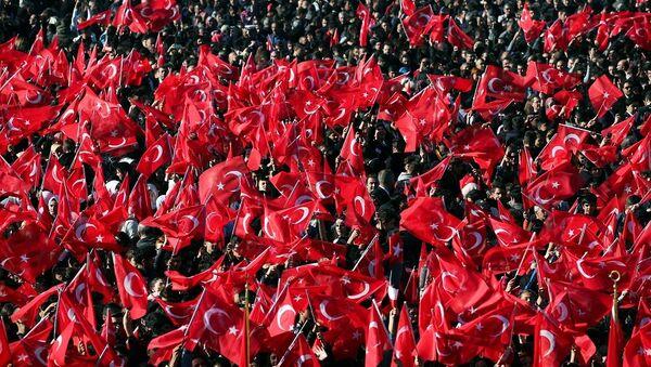 Türk bayrağı, Cumhuriyet Bayramı, 29 Ekim - Sputnik Türkiye
