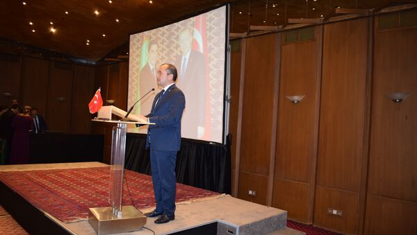 Türkmenistan İstanbul Başkonsolosu Myratgeldi Seyitmammedov - Sputnik Türkiye
