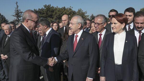 Recep Tayyip Erdoğan - Kemal Kılıçdaroğlu - Sputnik Türkiye