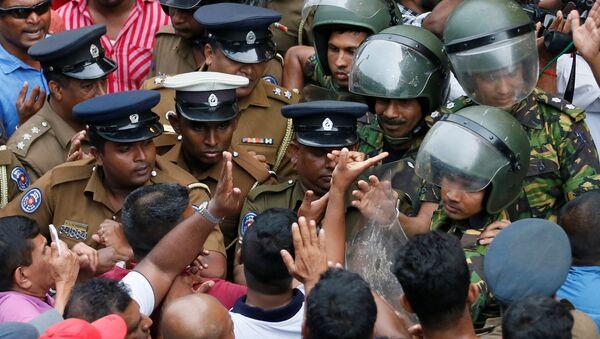 Sri Lanka'da siyasi kriz - Sputnik Türkiye
