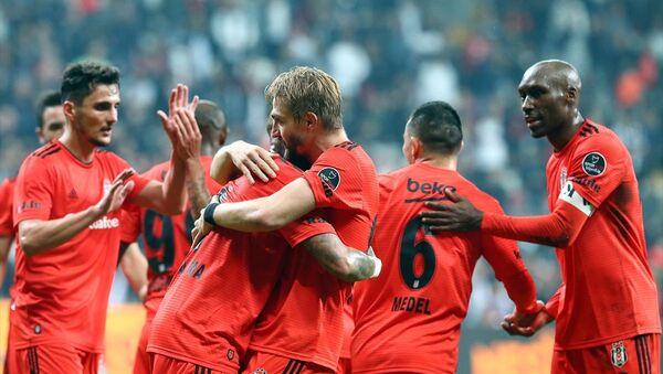 Rakiplerinin mağlup olduğu haftada, Beşiktaş farklı kazandı - Sputnik Türkiye