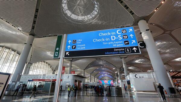 İstanbul Havalimanı açılışı - Sputnik Türkiye