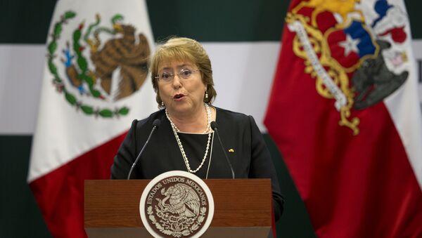 Chile's President Michelle Bachelet. File photo - Sputnik Türkiye