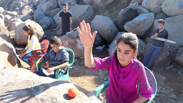 Diyarbakırlı çocuklar, O Ses Türkiye - Sputnik Türkiye