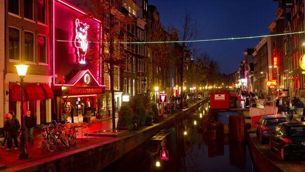 Amsterdam- Red Light District - Sputnik Türkiye