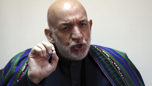 Eski Afganistan Cumhurbaşkanı Hamid Karzai - Sputnik Türkiye