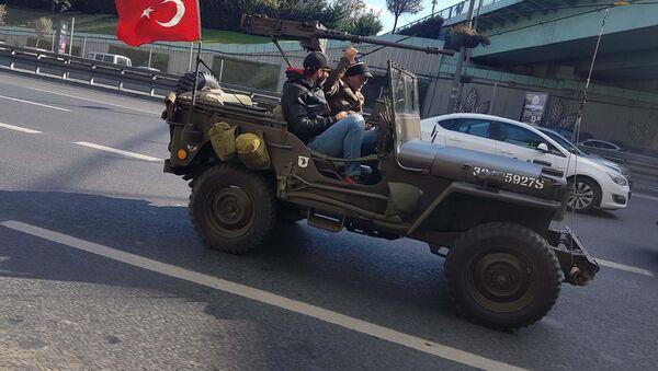 Uçaksavarlı cip - Sputnik Türkiye