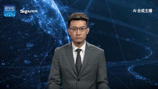 Çin - Yapay zeka haber sunucusu - Sputnik Türkiye