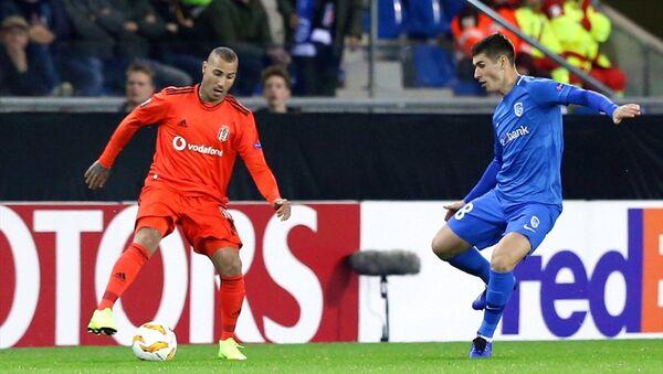 Genk ile Beşiktaş arasında oynanan UEFA Avrupa Ligi karşılaşması - Sputnik Türkiye