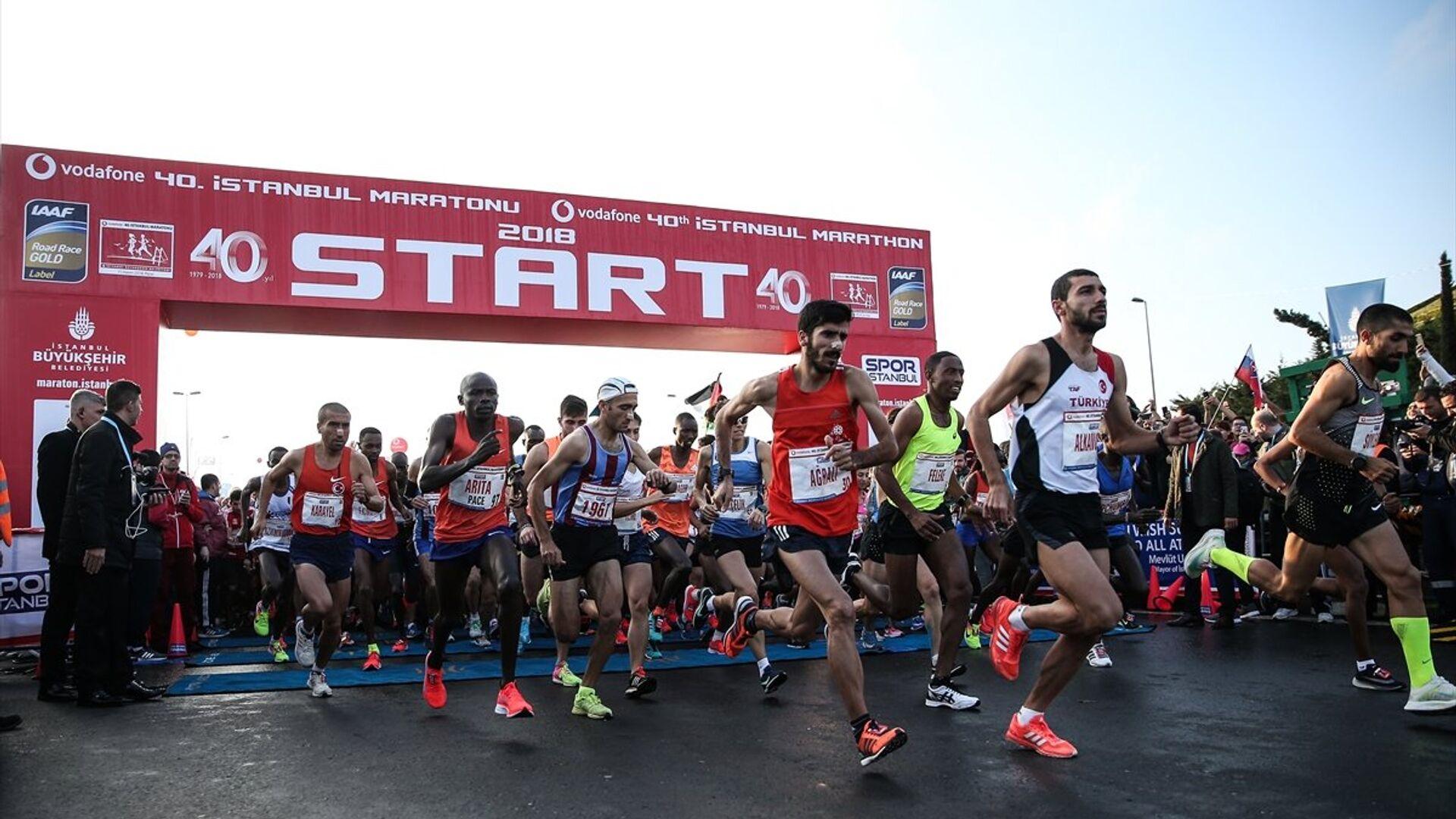 Vodafone 40. İstanbul Maratonu - Sputnik Türkiye, 1920, 19.09.2021
