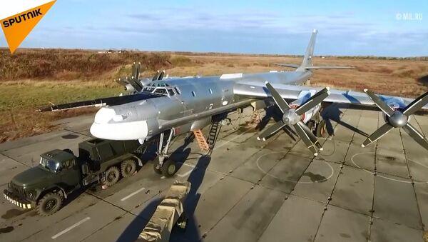 66 yıl önce Tu-95 havalandırıldı - Sputnik Türkiye