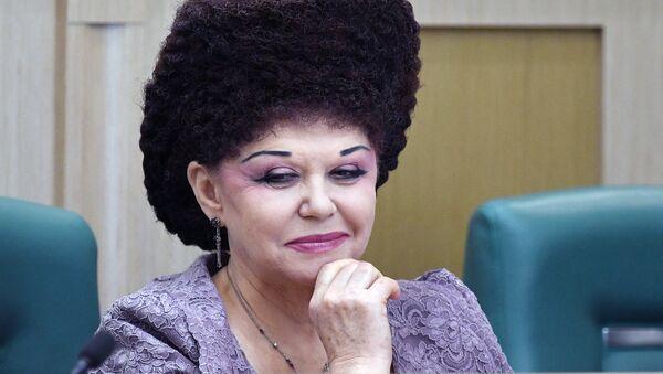 Hakasya Cumhuriyeti'nden Rus senatör Valentina Petrenko - Sputnik Türkiye
