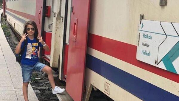 çorlu tren kazası -Oğuz Arda Sel - Sputnik Türkiye