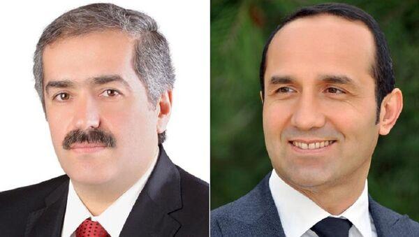Elbistan ve Ünye belediye başkanları - Sputnik Türkiye