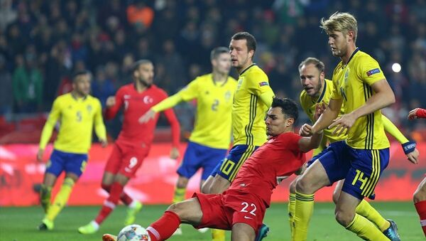 Türkiye - İsveç maçı - Sputnik Türkiye
