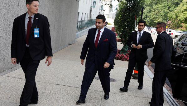 Suudi Arabistan'ın Washington Büyükelçisi Halid bin Selman - Sputnik Türkiye