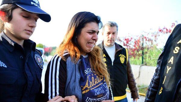 15 aylık bebeğini öldüren anne Aysel Yıldırım - Sputnik Türkiye