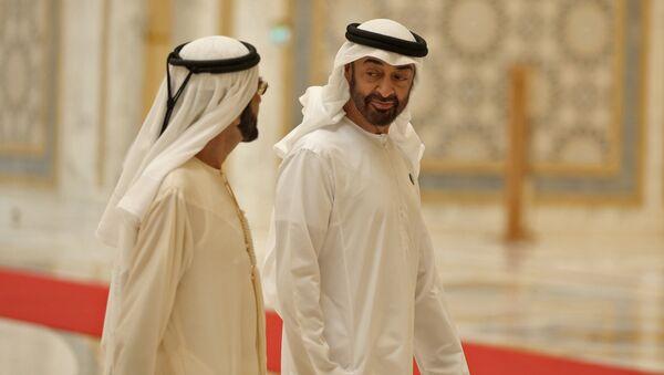 Abu Dhabi's Crown Prince Sheikh Mohammed bin Zayed Al Nahyan - Sputnik Türkiye