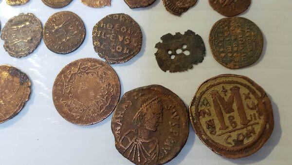 Roma ve Bizans dönemine ait sikkeler - Sputnik Türkiye