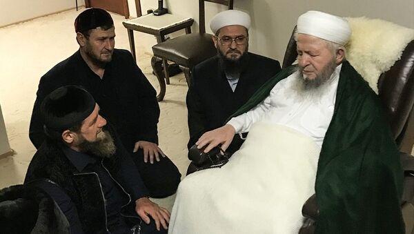 Kadirov'dan İsmailağa cemaatine ziyaret - Sputnik Türkiye