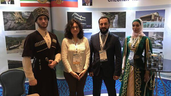 Çeçenistan Kültür Bakanı Müslim Baytaziyev - Sputnik Türkiye