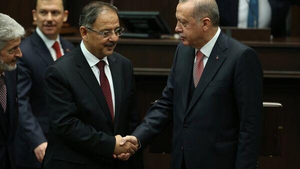 Mehmet Özhaseki - Recep Tayyip Erdoğan - Sputnik Türkiye