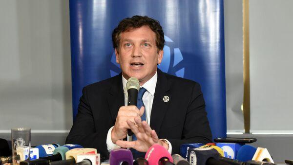 Güney Amerika Futbol Konfederasyonu (CONMEBOL) Başkanı Alejandro Dominguez - Sputnik Türkiye