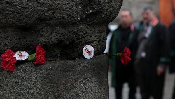 Tahir Elçi vurulduğu yerde anıldı - Sputnik Türkiye