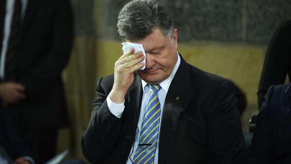 Ukrayna Devlet Başkanı Pyotr Poroşenko - Sputnik Türkiye