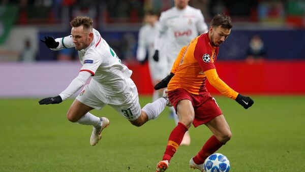 Galatasaray, Şampiyonlar Ligi 5. maçında Lokomotiv Moskova karşısında - Sputnik Türkiye