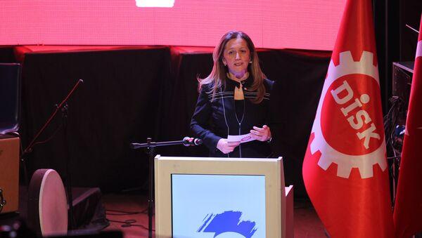 DİSK Genel Başkanı Arzu Çerkezoğlu - Sputnik Türkiye