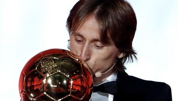 2018 Ballon d'Or ödülünün sahibi Modric oldu - Sputnik Türkiye