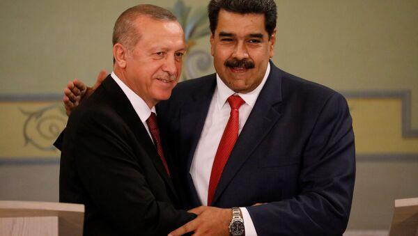 Recep Tayyip Erdoğan- Nicolas Maduro - Sputnik Türkiye