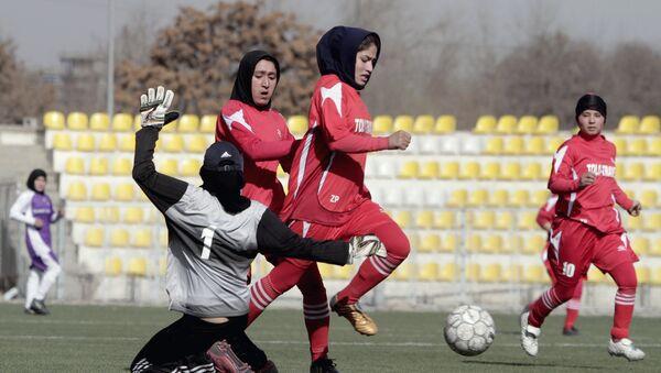Afganistan'da kadın futbolcuların istismarına ilişkin soruşturma talimatı - Sputnik Türkiye