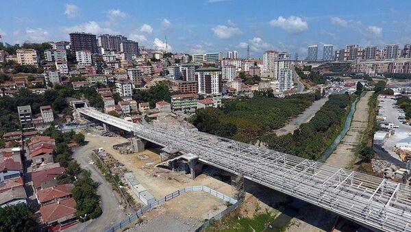 Kabataş – Mecidiyeköy - Mahmutbey Metro hattının yapım çalışmaları sürüyor. Hat, Avrupa yakasının ilk tam otomatik sürücüsüz metro hattı olacak. - Sputnik Türkiye