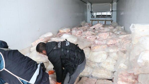 Erzincan'da 1 ton 271 kilogram eroin ele geçirildi - Sputnik Türkiye