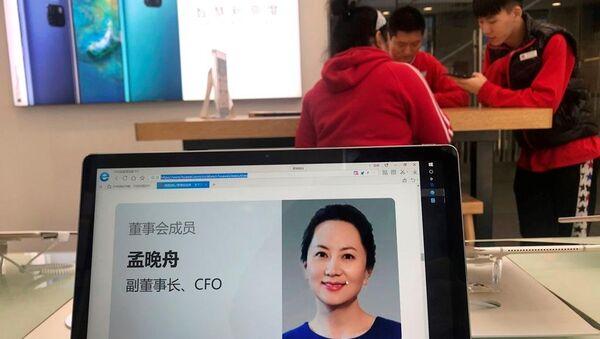 Huawei'nin kurucusu ve sahibi Ren Zhengfei'nin kızı Meng Wanzhou - Sputnik Türkiye