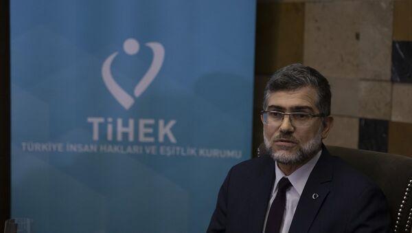 Türkiye İnsan Hakları ve Eşitlik Kurumu (TİHEK) Başkanı Süleyman Arslan - Sputnik Türkiye