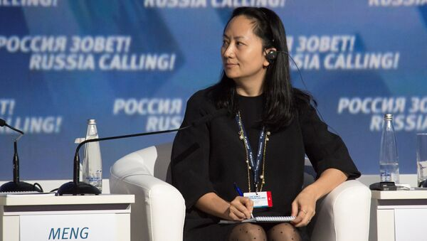 Huawei's Executive Board Director Meng Wanzhou attends the VTB Capital Investment Forum Russia Calling! in Moscow - Sputnik Türkiye