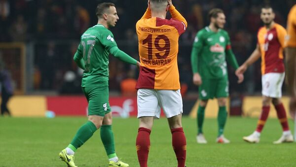 Galatasaray, Çaykur Rizespor ile berabere kaldı - Sputnik Türkiye