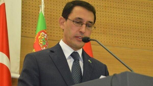 Türkmenistan'ın Ankara Büyükelçisi İsankuli Amanlıyev - Sputnik Türkiye