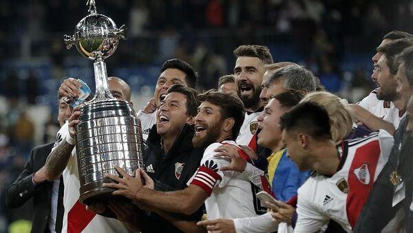 'Tarihin en uzun finali'nde Libertadores Kupası'nı River Plate kazandı - Sputnik Türkiye